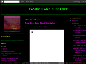 FASHION AND ELEGANCE Blogging Fusion Blog Directory