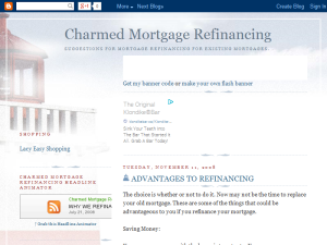 Charmed Mortgage Refinancing Blogging Fusion Blog Directory