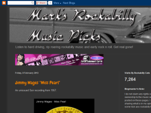 Mark's Rockabilly Music picks
