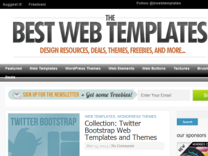 Best Web Templates 2011 Blogging Fusion Blog Directory
