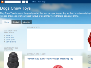 Dogs Chew Toys Blogging Fusion Blog Directory