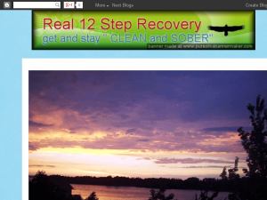 Real Recovery Blogging Fusion Blog Directory
