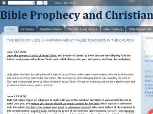 Bible Prophecy and Christianity