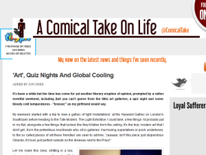 A Comical Take On Life Blogging Fusion Blog Directory