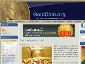 Goldcoin Blogging Fusion Blog Directory