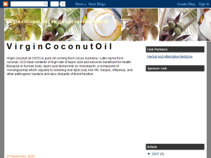 virgin coconut oil | virgin coconut oil benefit Blogging Fusion Blog Directory