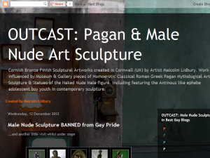 OUTCAST: Pagan & Male Nude Art Sculpture Blogging Fusion Blog Directory