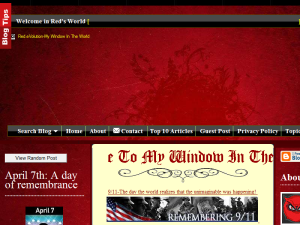 My Window In The World Blogging Fusion Blog Directory
