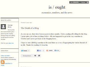 Is / Ought Blogging Fusion Blog Directory