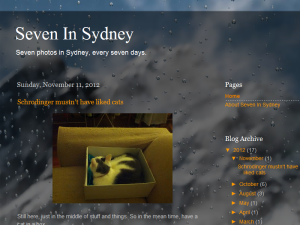 Seven in Sydney Blogging Fusion Blog Directory