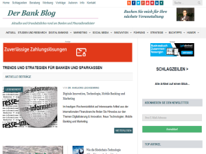 Der Bank Blog Blogging Fusion Blog Directory