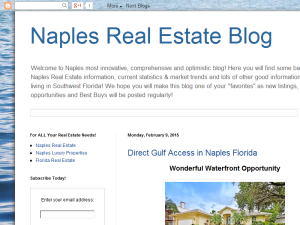 Naples Real Estate Blog