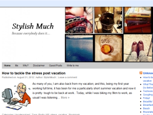 Stylish Much Blogging Fusion Blog Directory