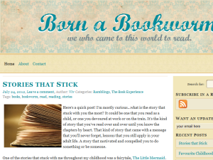 Born a Bookworm Blogging Fusion Blog Directory