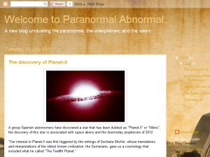 Paranormal Abnormal