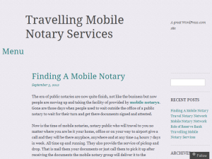 Mobile Notary Network Blog