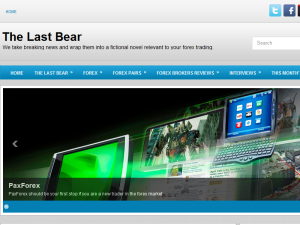The Last Bear Blogging Fusion Blog Directory