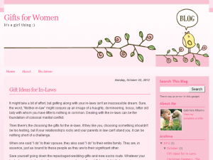 Gifts for Women Blogging Fusion Blog Directory