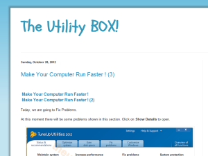 The Utility Box Blogging Fusion Blog Directory