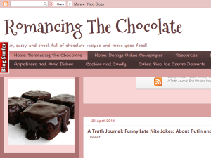Romancing The Chocolate Blogging Fusion Blog Directory