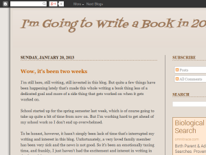 I'm Going to Write a Book in 2013 Blogging Fusion Blog Directory