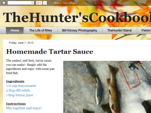 TheHunter'sCookbook Blogging Fusion Blog Directory