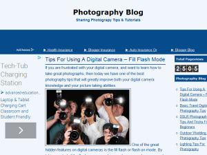 Photography Blog Blogging Fusion Blog Directory