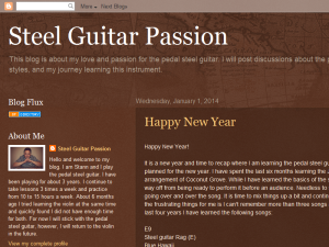 Steel Guitar Passion