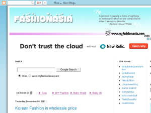 MyFashionAsia Blogging Fusion Blog Directory