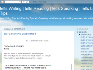 Ielts Writing and Reading Tips Blogging Fusion Blog Directory