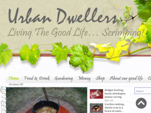 Urban Dwellers Living The Good Life Scrimping Blogging Fusion Blog Directory