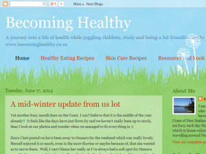 Becoming Healthy Blogging Fusion Blog Directory