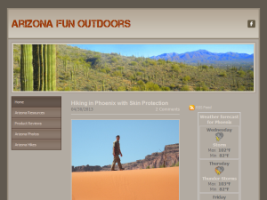 Arizona Fun Outdoors Blogging Fusion Blog Directory