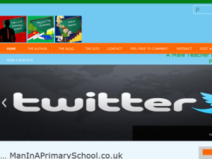 Man In A Primary School Blogging Fusion Blog Directory