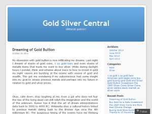 Keeping Up With Gold and Silver Investments
