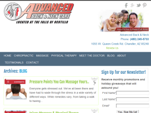 Chiropractic Blog Blogging Fusion Blog Directory