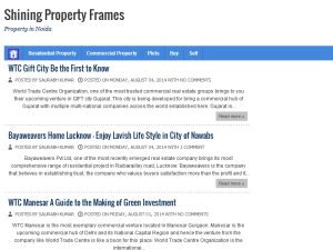 Shining Property Frames Blogging Fusion Blog Directory