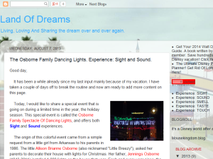 Land Of Dreams Blogging Fusion Blog Directory