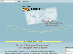 The Lazy Laurelite Blogging Fusion Blog Directory