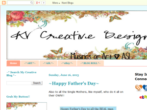 KV Creative Designs Blogging Fusion Blog Directory