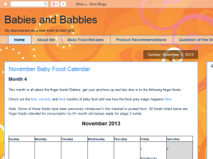 Babies and Babbles Blogging Fusion Blog Directory