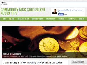 COMMODITY MCX GOLD SILVER NCDEX TIPS