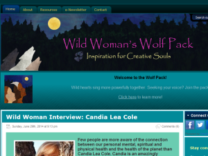 Wild Woman's Wolf Pack Blogging Fusion Blog Directory