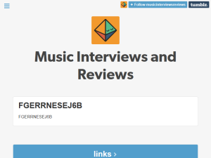 Music Interviews Reviews Blogging Fusion Blog Directory