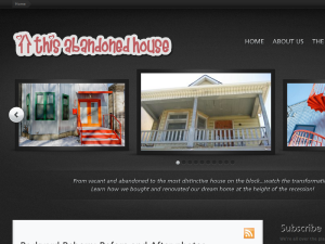 This Abandoned House Blogging Fusion Blog Directory