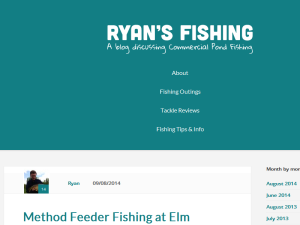 Ryan's Fishing Blog