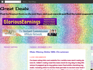 Great Deals Blogging Fusion Blog Directory