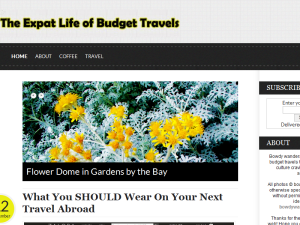The Expat Life of Budget Travels Blogging Fusion Blog Directory