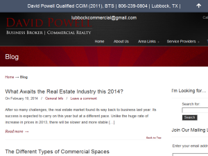 Lubbock Commercial Real Estate Blog