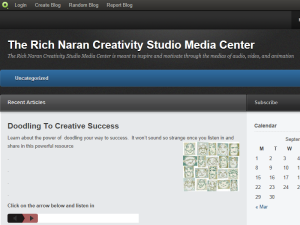 The Rich Naran Creativity Studio Media Center Blogging Fusion Blog Directory